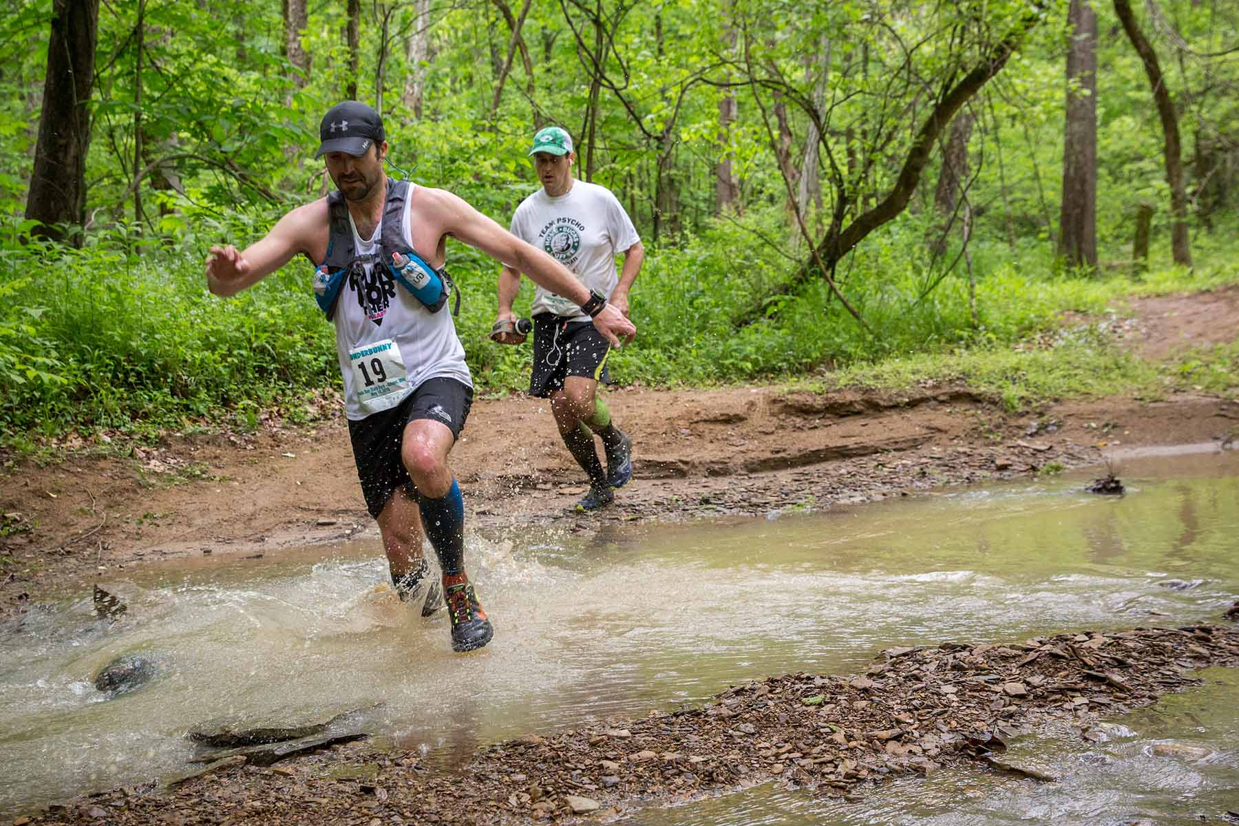 Photographs of the 2016 Thunderbunny 50k Ultramarathon. This was the first ultramarathon to be held in Athens County. The Thunderbunny 50k also featured a 25k and a 12k event on May 14, 2016