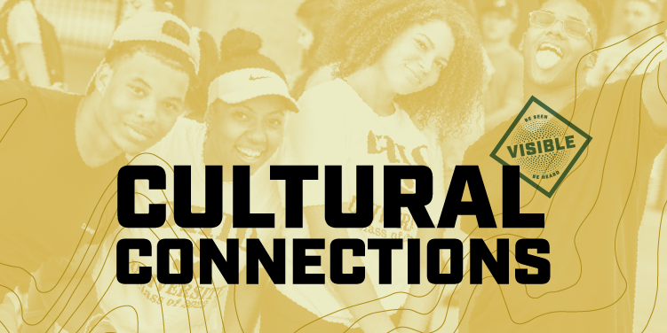 Cultural Connections; Visible - Be seen - Be heard