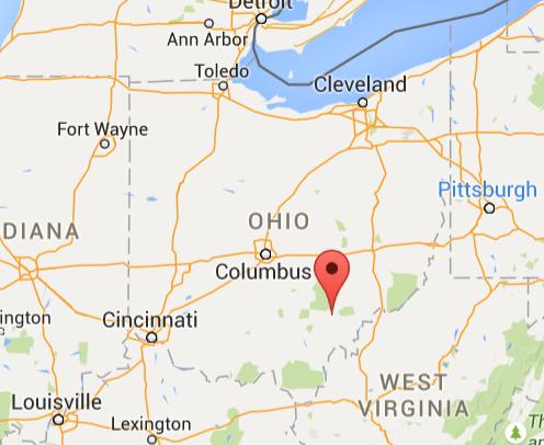 graphic relating to Printable Map of Ohio named Maps Ohio College