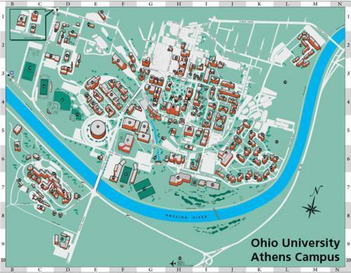 Maps | Ohio University