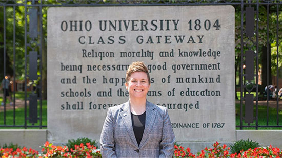 Bobcat Nation welcomes new executive director of OHIO Alumni Association