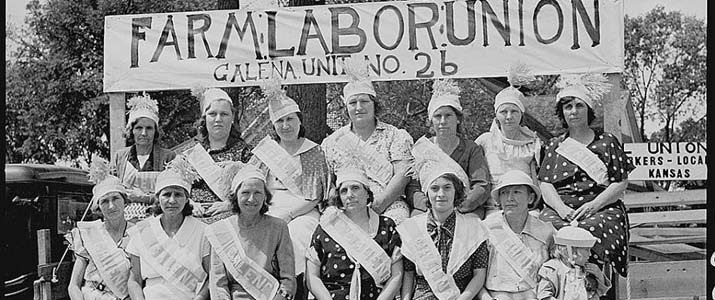 Farm labor union history photo