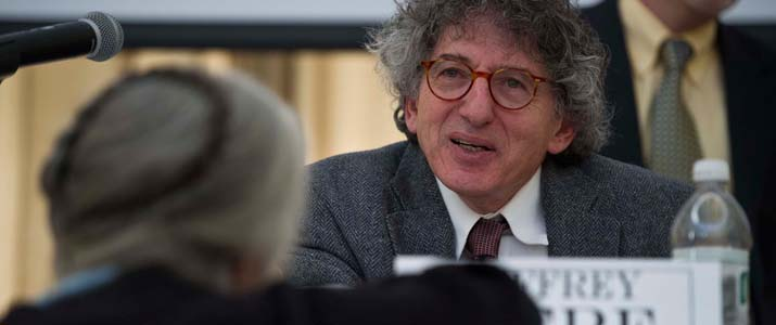 Dr. Jeffrey Herf, University of Maryland, at the 2013 Baker Peace Conference.