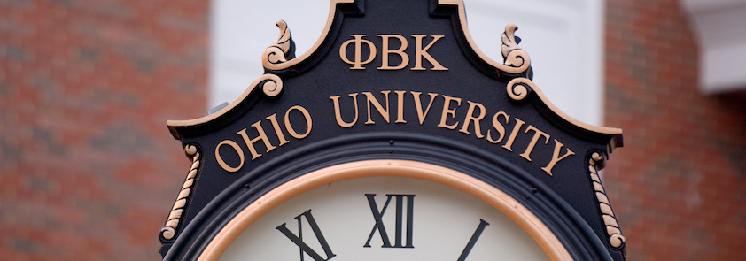 Phi Beta Kappa Ohio University Clock