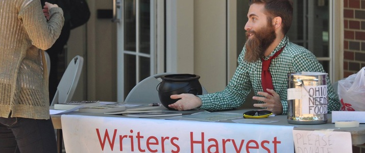 Writers' Harvest donations go to  Southeastern Ohio food banks.