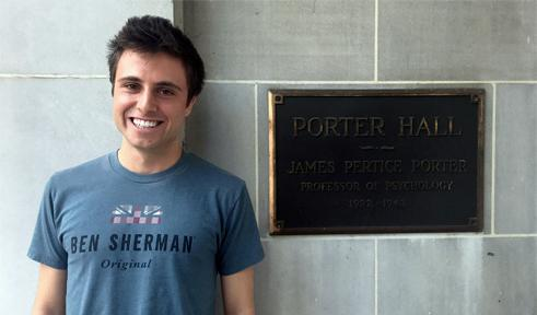 Ethan Schmerling, portrait by Porter Hall sign