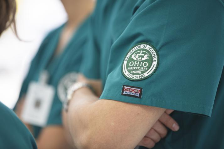OHIO School of Nursing BSN badge image