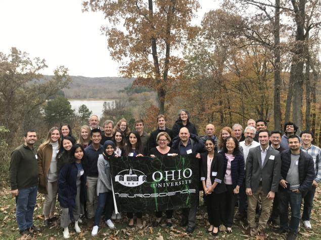 OUNRD Participants at Lake Hope Lodge