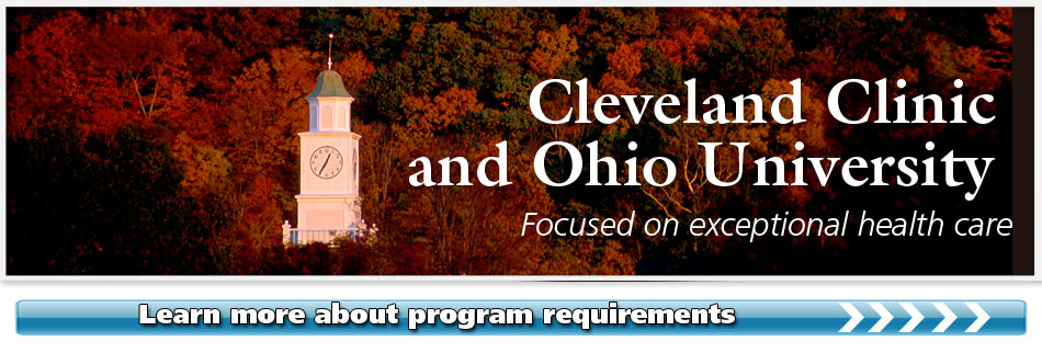 Cleveland Clinic and Ohio University Focused on exceptional health care.
