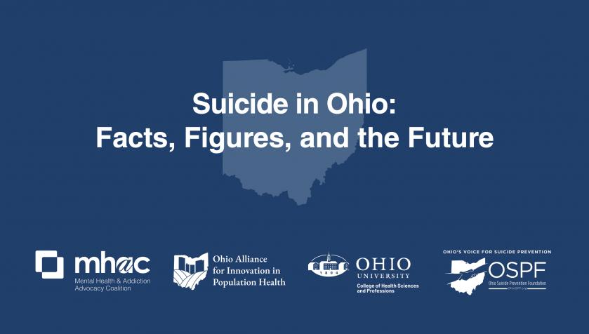 Suicide in Ohio: Facts, Figures and the future
