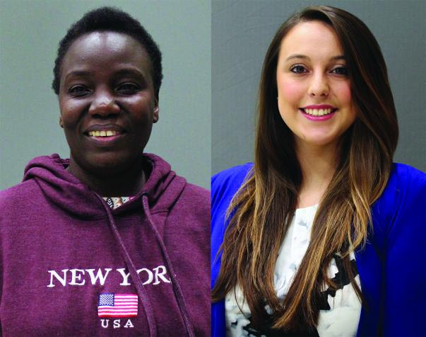 Student Success: Jennifer Ojiambo Isiko & Stephanie Maccombs