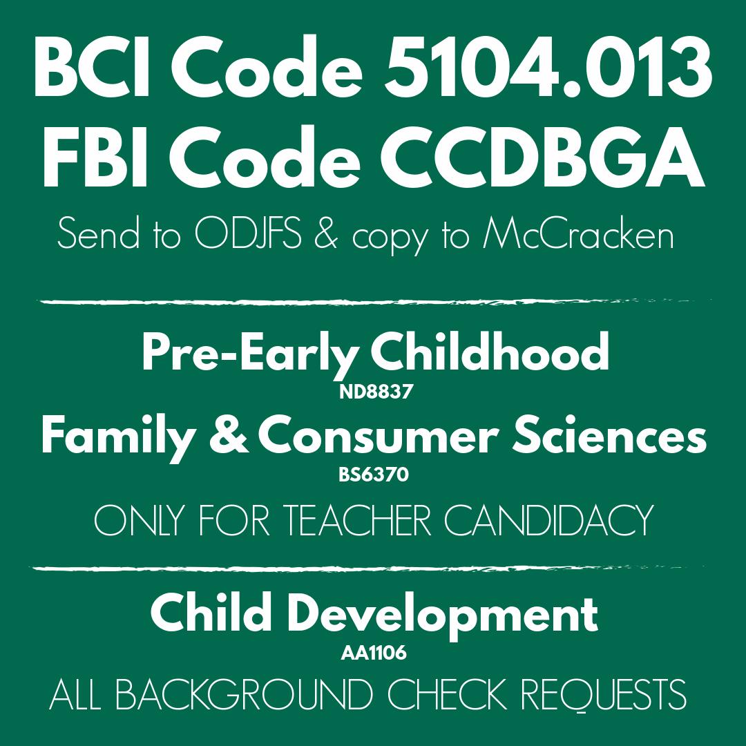 BCI 5104.013 FBI CCDBGA