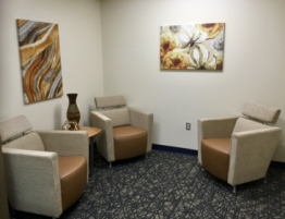 George Hill Center Waiting Room