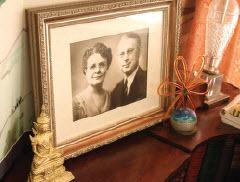 Framed Photo of David and Gladys Patton