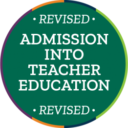 Revised Admissions for Teacher Education