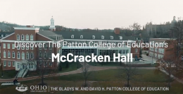 McCracken Hall VIrtual Tour with Curt Plummer