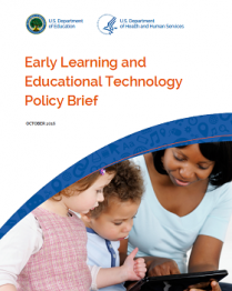 Early Learning and Educational Technology Policy Brief