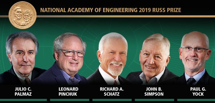 National Academy of Engineering 2019 Russ Prize Recipients