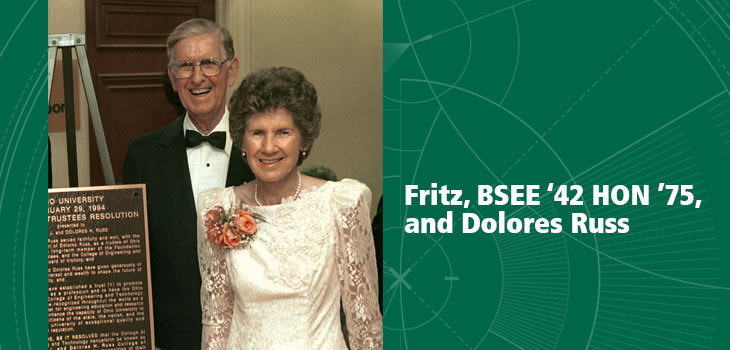 Fritz and Dolores Russ