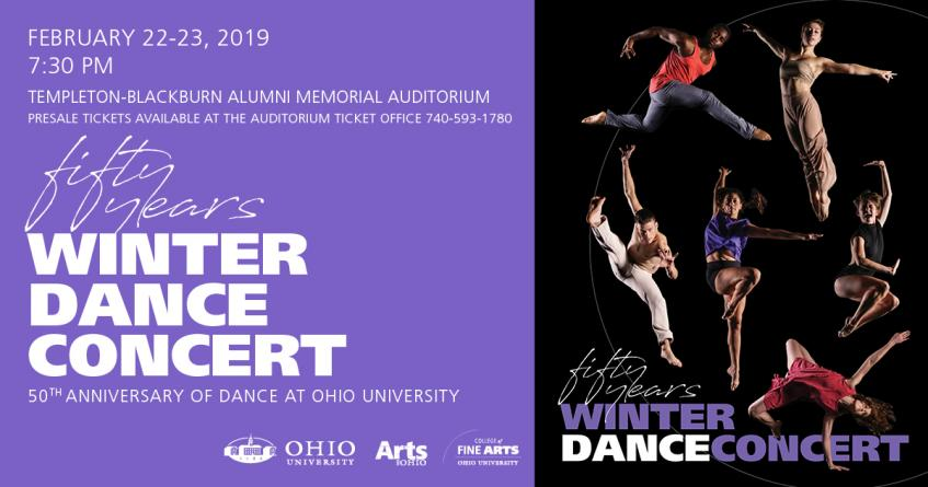 School of Dance presents the 2019 Winter Dance Concert