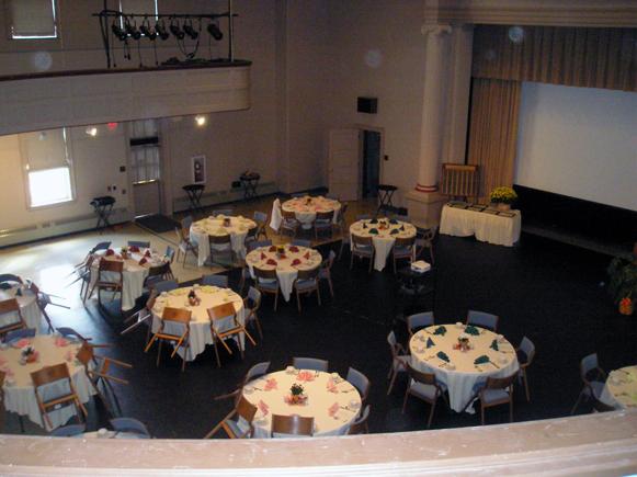 Ridges Auditorium Interior