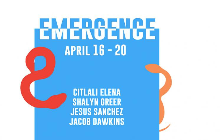 Emergence— B.F.A. Thesis Show Opens April 16