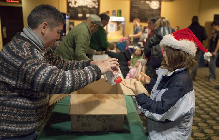 Athena Cinema addresses food insecurity at 8th-annual Holiday Film Series