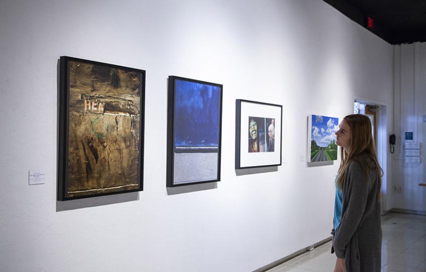 2018 State of the Arts Exhibition, in Seigfred Hall Gallery