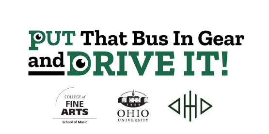 110 campaign banner- Put That Bus in Gear and Drive It!