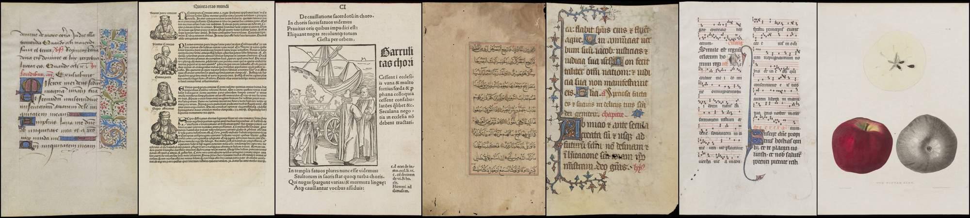 Manuscript and Printed Leaves | Ohio University