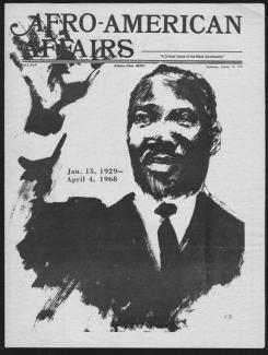 Afro-American Affairs Cover, 1972