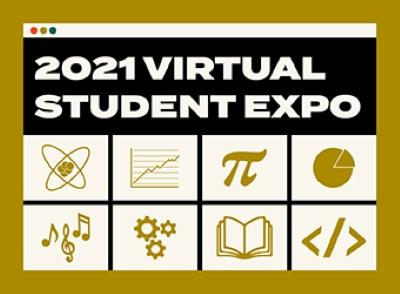 Libraries' 2021 Student Expo Winners Graphic