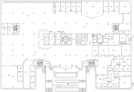 Alden Library 2nd Floor Map