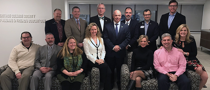 2019 SOCIETY OF ALUMNI AND FRIENDS board