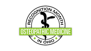 Osteopathic Recognition Month Digital Sign 1