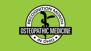 Osteopathic Recognition Month Digital Sign 2