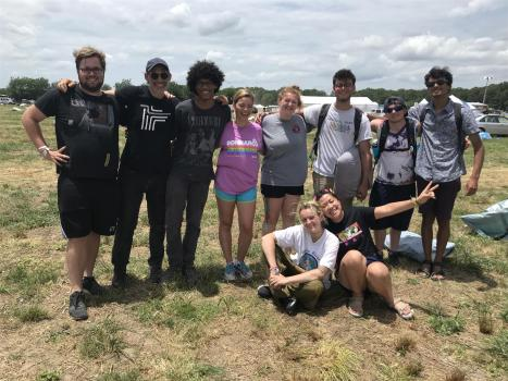 MDIA Students assist at Bonnaroo and Forecastle in new Ohio University Music Industry Masterclass