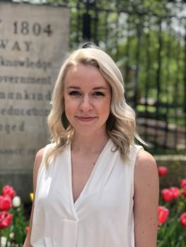 2019 Journalism Strategic Communication Alumna Sadie Newman: Account Coordinator in Chicago