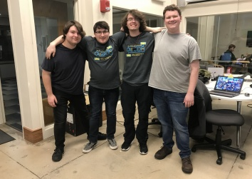 Games Development and Animation Major Kalan Greiner talks about his team's game jam and esports
