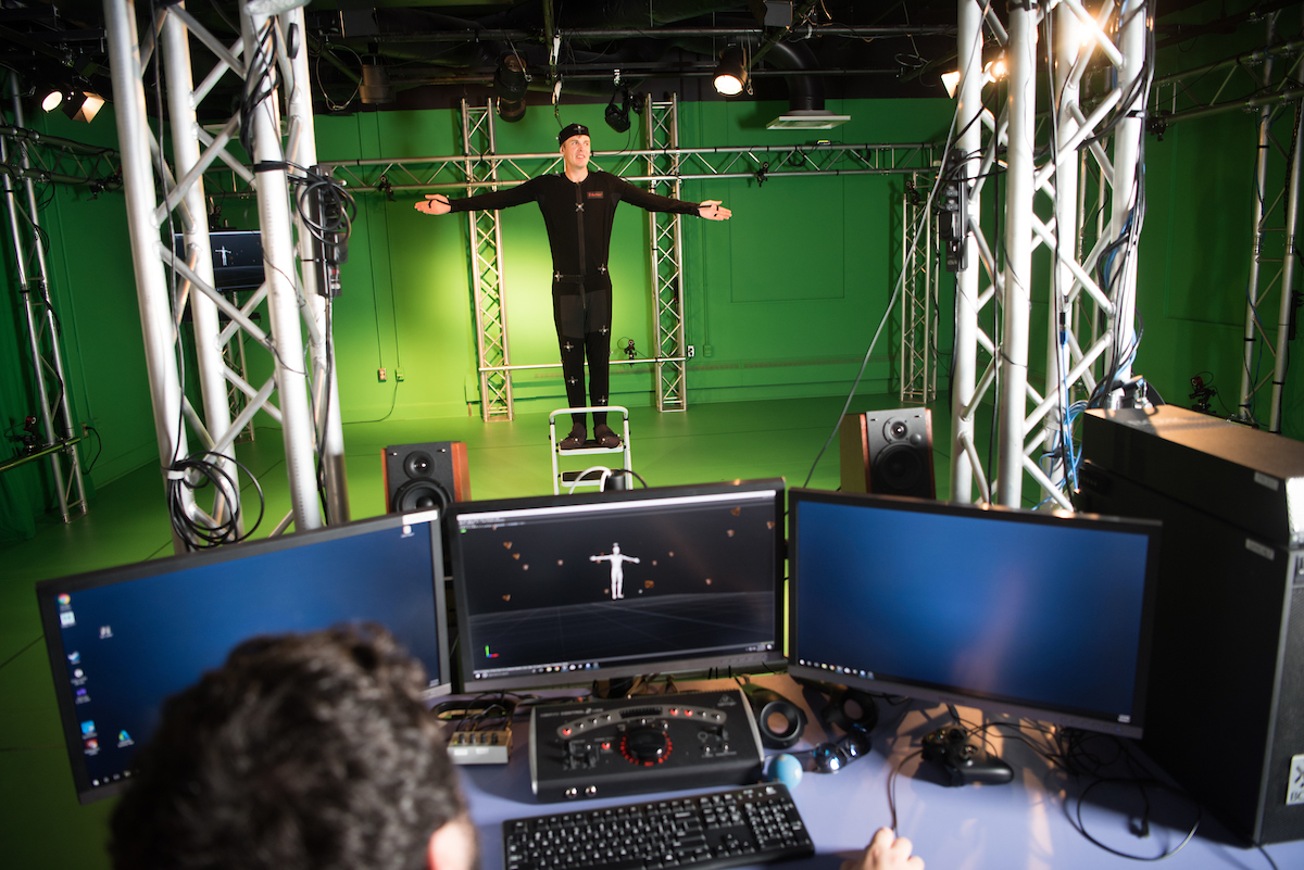 GRID Lab motion capture