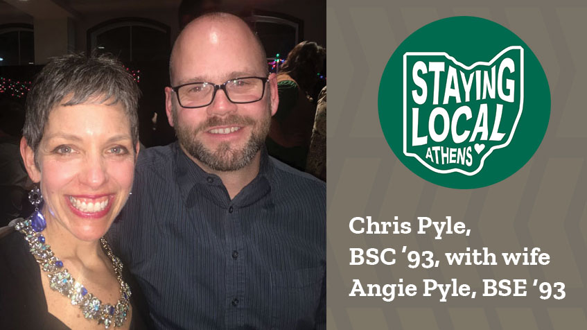 Staying Local Series: Chris Pyle, BSC '93