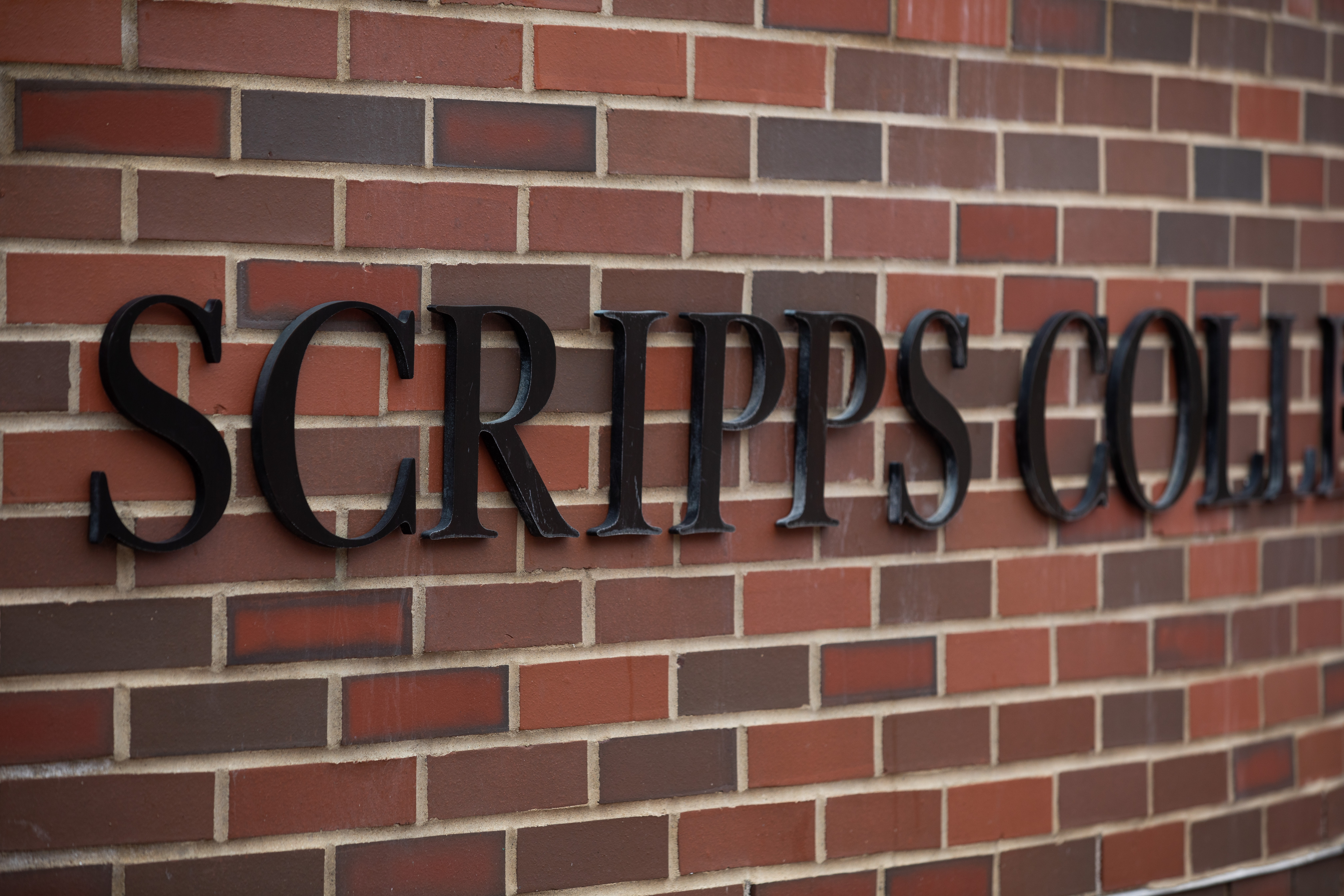 Scripps College of Communication sign