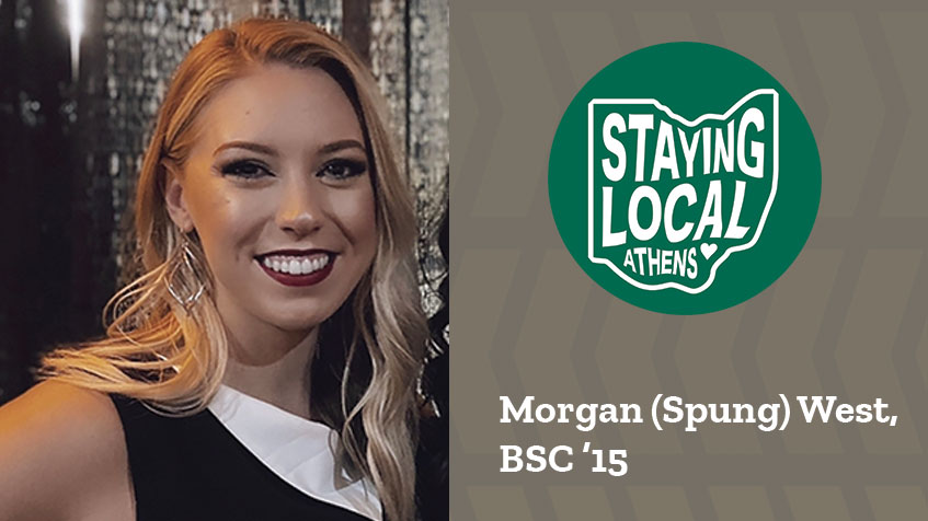 Staying Local Series: Morgan (Spung) West, BSC '15