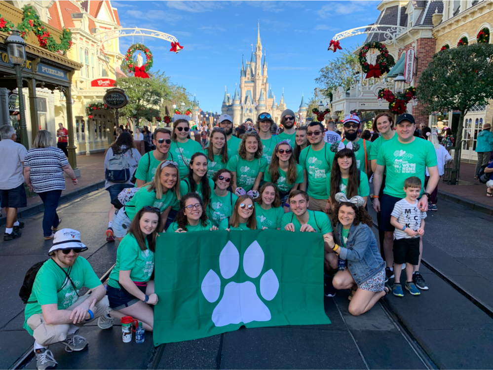Students in the Storytelling in Theme Parks course at Disney