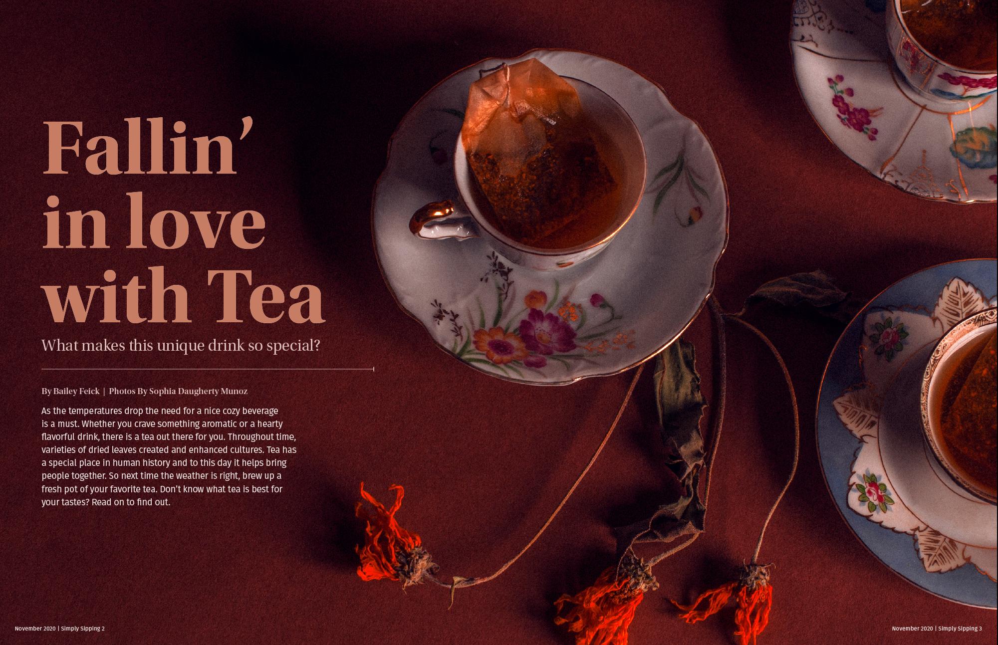 tea studio shot