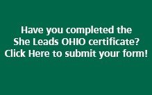 She Leads OHIO completion button. Click here to access form.