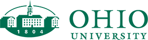 Ohio University Logo in Green