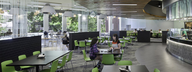 West Green food court