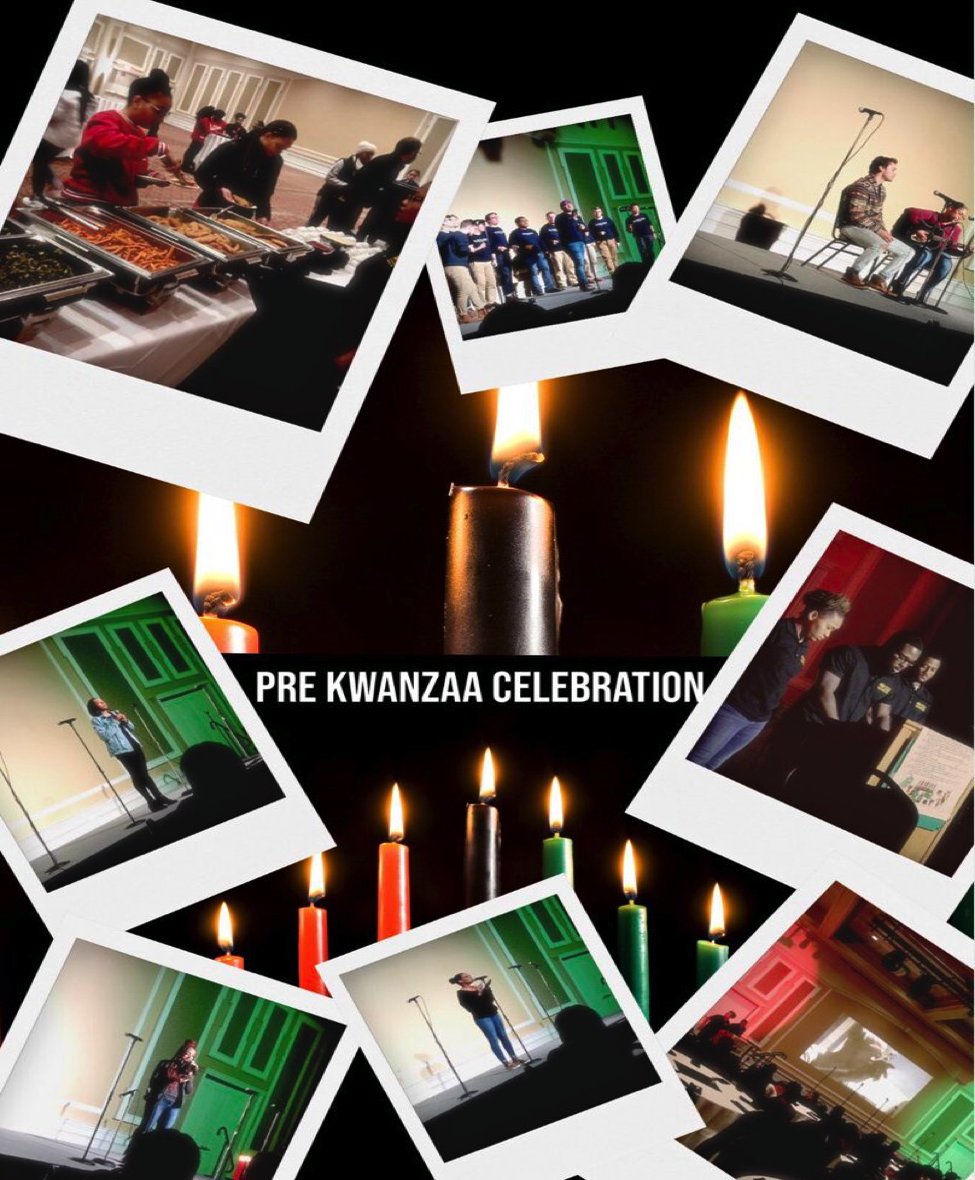 Various photos of the Pre-Kwanza Celebration December 2018