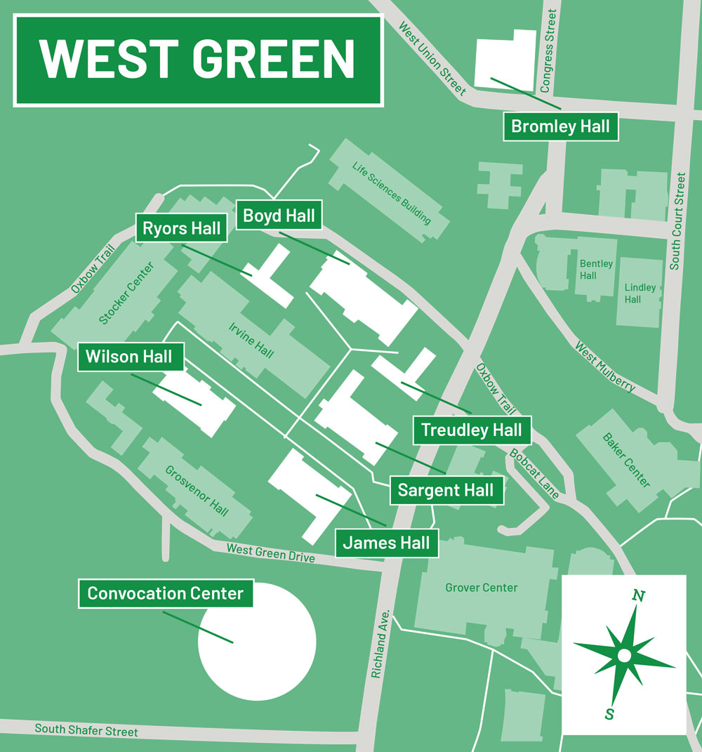 West Green Map